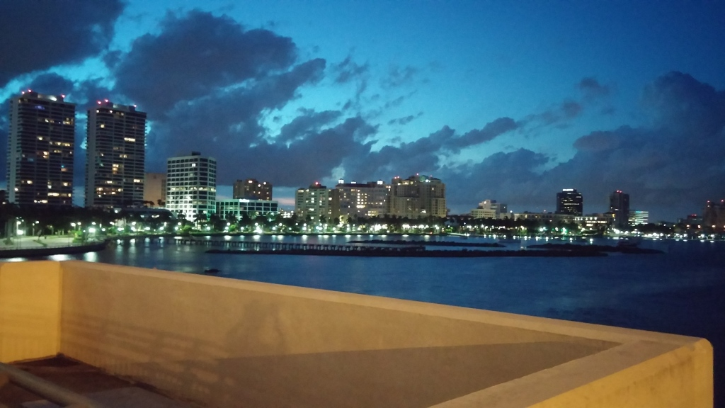 West Palm Beach from the Royal Park Bridge.