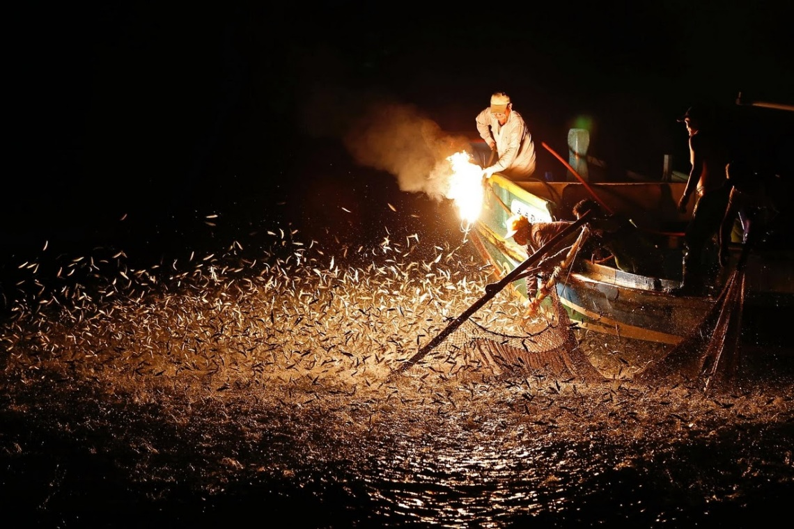 Fire Fishing Taiwan