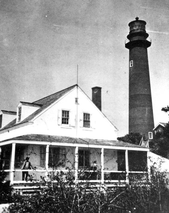 Lighthouse and keepers house